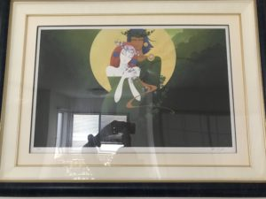 Aさんの家のリビングの絵